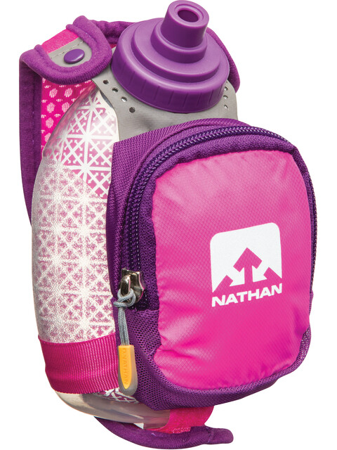 Nathan QuickShot Plus Insulated drinksysteem 300ml roze/violet